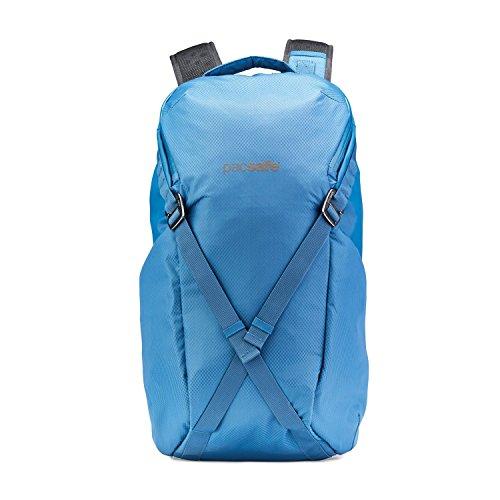 Pacsafe Venturesafe X24 Anti-Diebstahl Rucksack, Reiserucksack, Handgepäck mit Sicherheitstechnologie, 24 Liter - Stahl Blau/Steel Blue