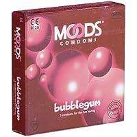 MOODS Bubblegum Condoms - 3 Kondome mit Kaugummi-Aroma für mehr Spaß zu zweit preisvergleich bei billige-tabletten.eu