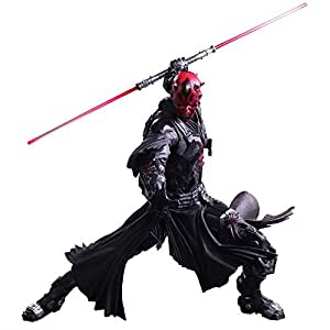 STAR WARS Play Arts Kai VARIANT Darth Maul PVC peint figurine