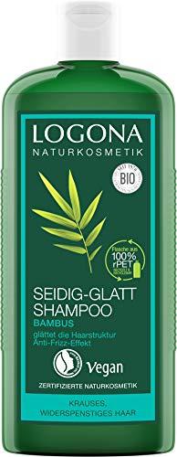 LOGONA Naturkosmetik Seidig-Glatt Shampoo Bambus,...