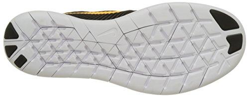 Nike Free Rn Cmtr, Chaussures de Running Entrainement Homme Multicolore (Anthrazit/laser Orange/rage Grün/weiß)