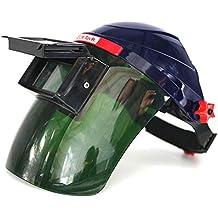 Casco de soldadura con energía solar, oscurecimiento automático, máscara de atenuación, gafas protectoras