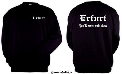 world-of-shirt Herren Sweatshirt Erfurt Ultras