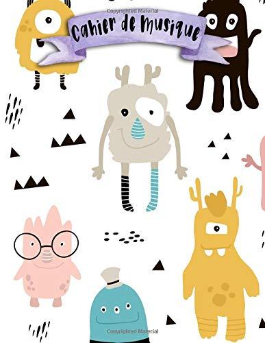 Cahier de Musique: A4 - 108 pages - 12 portÃes par pages - Motifs - Textures - Motifs geometriques - patterns - couverture souple glossy - musicbook ... textures - chant - musicien - compostion