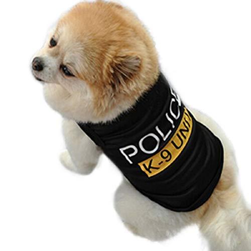 te Kostüm mit Polizeipresse - Polizist - Polizei - Strafverfolgung - Carabinieri - Hund (XS) ()