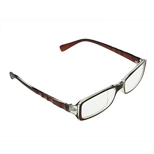 Klassische Nerd Brille oder als Sonnenbrille Wayfarer Brille Dekogläser Anti-Strahlung Brillen für Damen und Herren in verschiedenen (Farben Nerd Brille)