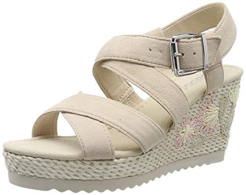 Gabor Shoes Damen Basic Riemchensandalen, Mehrfarbig (Skin (Flower) 11), 37.5 EU -