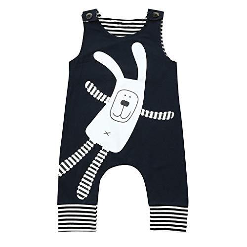 Unisex Baby Kurzarm Body Mit Aufdruck Gestreifte Baby Body Mit Aufdruck, Pwtchenty Sommer Outfits Baby Strampler Overall Kleidung
