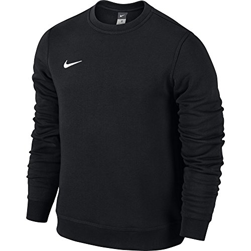 Nike Team Club Crew Maglietta, Nero / Bianco / (Black/Black/Football White), 2XL