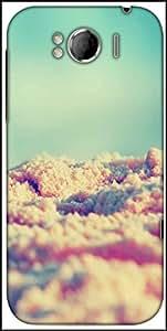 Snoogg Beach Sands Designer Protective Back Case Cover For HTC Sensation Xl