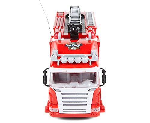 RC Auto kaufen Feuerwehr Bild 3: World Tech Toys 34980 Feuerwehrauto, Rot*