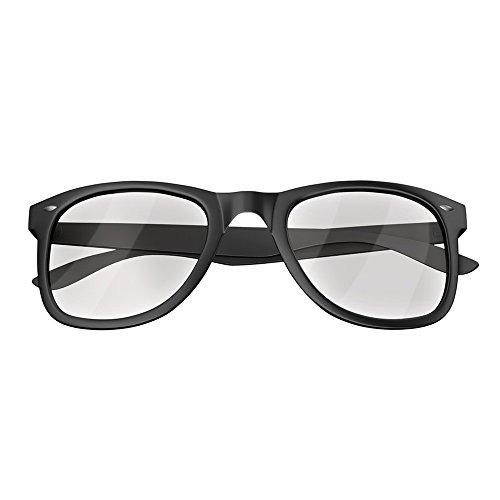 Mars Gaming MGL1 - Schutzbrillen für Spiele (entworfen, um Ihre Leistung, Anti-Müdigkeit, transparentes Glas zu verbessern), schwarz