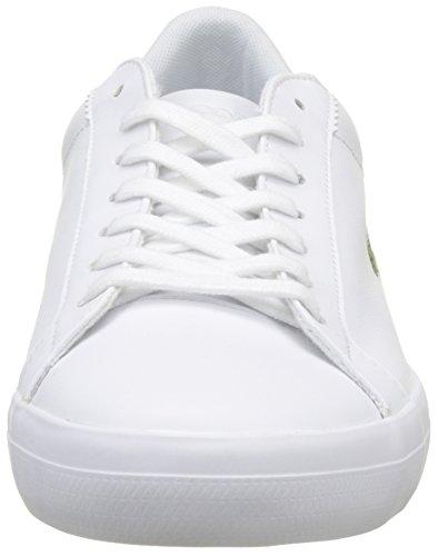 Lacoste Lerond Bl 1 Cam, Sneaker Uomo Bianco (Wht)