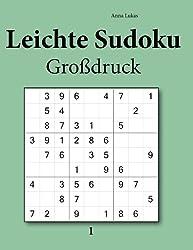 Leichte Sudoku Großdruck 1