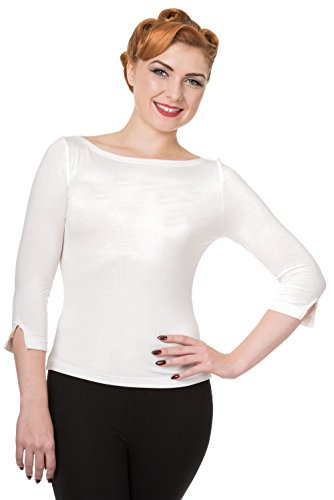 Top Modern Love Banned (Bianco) - Small