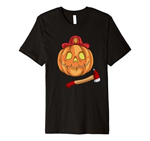 Funny Feuerwehrmann Halloween-Kostüm T-Shirt (Rot Feuerwehrmann Kostüm Frauen)