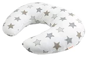 Baroo Beige Stars Nursing Pillow (Beige)