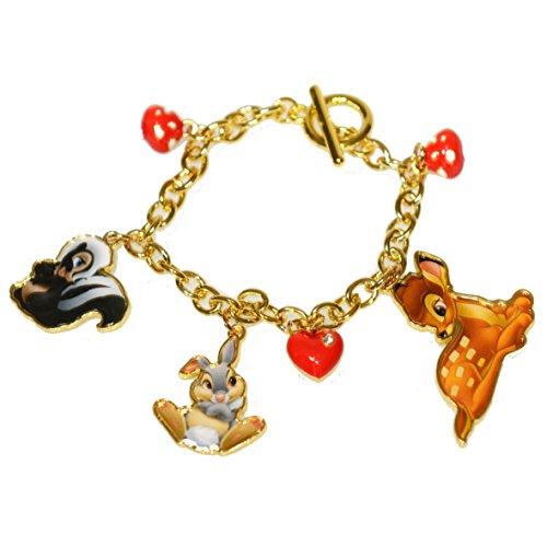 Disney Bracciale Bambi e i suoi amici