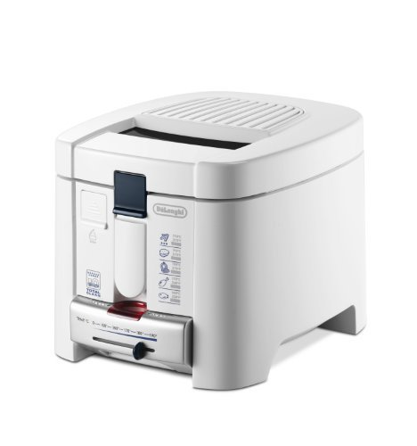 DeLonghi F 13235 Solo Independiente 1200W Blanco - Freidora (0,7 kg, 1,2 L, Solo, Blanco, Independiente, 1200 W)