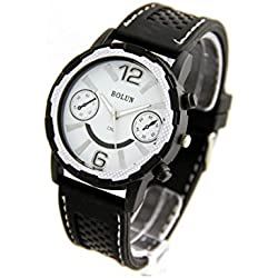 Silichomme - Montre Homme Silicone Noir 2342