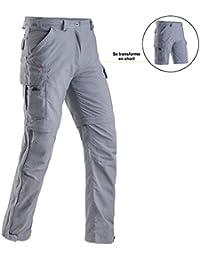 Pantalon convertible léger et antimoustiques femme CIMALP JOHANNESBOURG