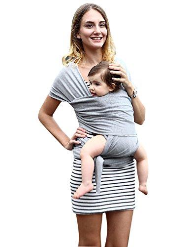 GRACE KARIN Babytragetuch elastisches Tragetuch Trageanleitung fuer Frueh- und Neugeborene AM1071-3