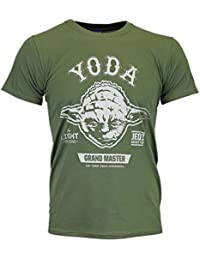 Character Mens Star Wars T-shirt Yoda Size Medium
