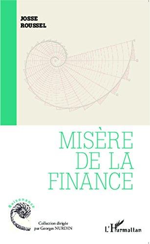 Misère de la finance