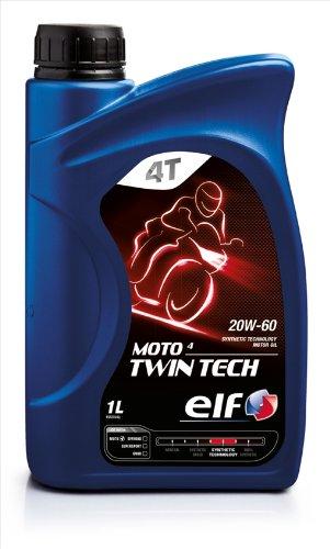 Elf Olio Moto Twin Tech 20W-60 4T