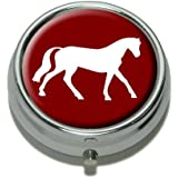 Horse Pill Case Trinket Gift Box