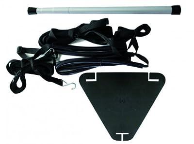 Persenningstütze mit Abspanngurt 50 - 118 cm