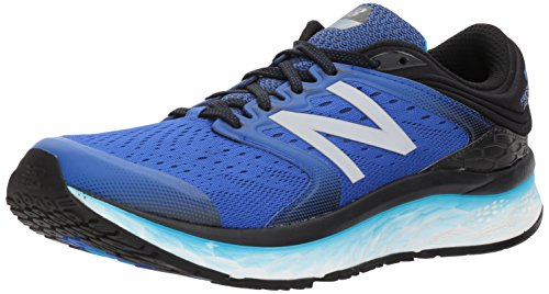 New Balance 1080v8, Scarpe Running Uomo, Blu Pacific/Black/Maldives Blue, 45 EU