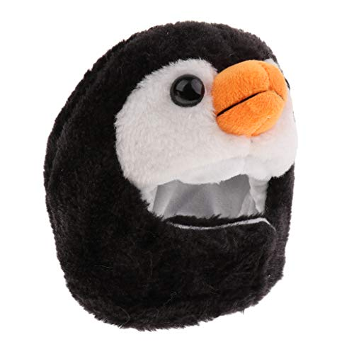 perfk Niedlich Tierform Hut Kleine Hunde Katzen Kopfbedeckung Party Cosplay Kostüm Zubehör - Pinguin