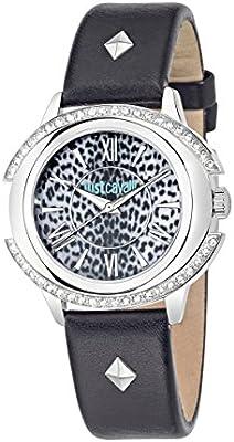 Just Cavalli de Mujer Reloj De Pulsera Decor analógico de cuarzo piel r7251216505