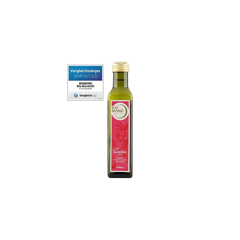 Bio Mandell S Biomond 250 Ml Kaltgepresst Testsieger Nussl Naturkosmetik Gourmetl