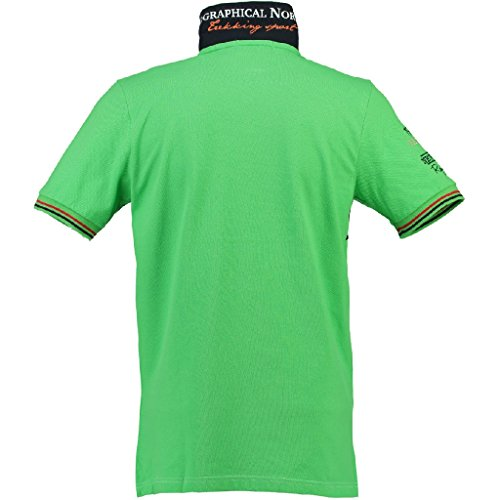 Kerad SS men Poloshirt von Geographical Norway F-GREEN
