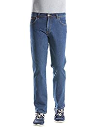 Wrangler Herren Regular Fit Jeans Texas Stretch
