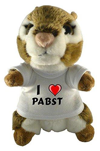 plusch-amerikanisches-hornchen-mit-t-shirt-mit-aufschrift-ich-liebe-pabst-vorname-zuname-spitzname