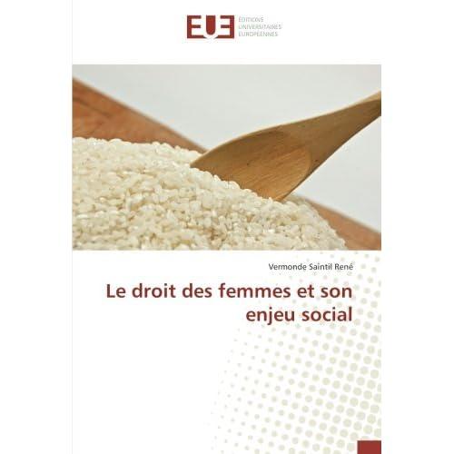 Le droit des femmes et son enjeu social
