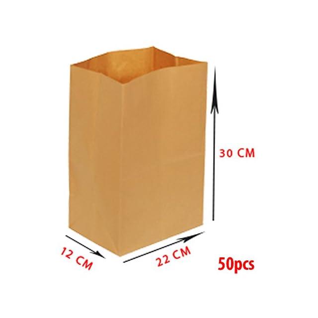 387476143f Asiam Impex Sarl Sac en Papier ? sans Poignée - 22x12x30-70gsm ? 50 piéces  ...