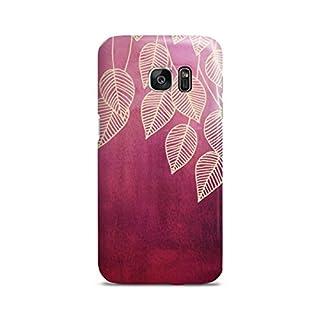 artboxONE Samsung Galaxy S7 Premium-Case Handyhülle Magenta Garden von Micklyn