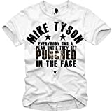 E1SYNDICATE T-SHIRT IRON MIKE TYSON KID DYNAMITE EVANDER HOLYFIELD DOPE TIGER S/M/L/XL