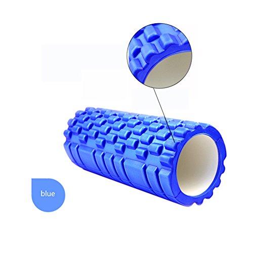 sorliva Schaumstoff Roller für Spiky Deep Massage–Ideal für Rücken, Bein und Lendenbereich Massage, blau