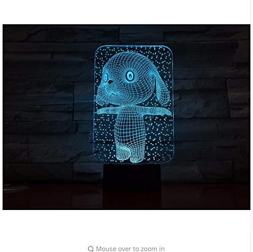 cryl Nachtlicht Usb Schlaf Leuchte Power Tischlampe Schlafzimmer Dekor Kinder Geschenk ()