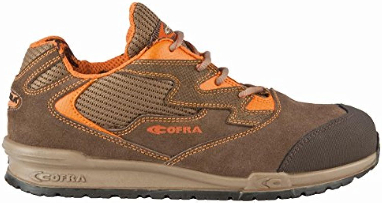 Cofra 78630 – 000.w43 Gaudini P – Zapatos de seguridad S1 SRC talla 43 MARRÓN