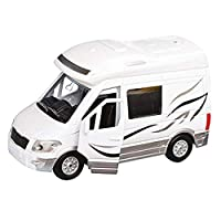 Teamsterz Die-cast Motorhome with Sounds | Kids Try Me Metal Toy Vehicles Great For Children Aged 3+