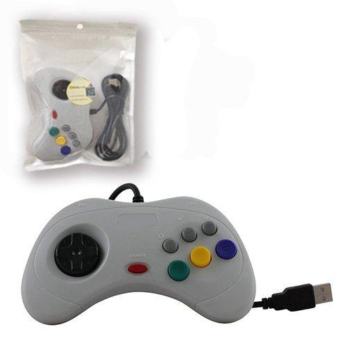 childhood-controller-usb-del-pc-gamepad-joypad-per-sega-saturn-sistema-stile-classico