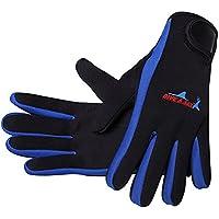 SEGRJ Unisex Diving Gloves 3mm Neoprene Cold Proof Anti Slip Surf Kayak Diving Watersports mittens