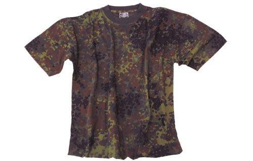 US Army T-Shirt flecktarn XS-XXL XXL XXL,flecktarn/BW camo