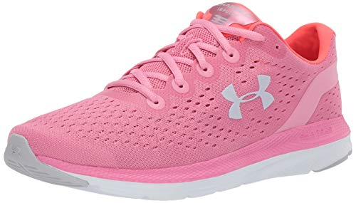 Under Armour Damen Charged Impulse Laufschuh, Rot (Lippenstift/Weiß), 43 EU